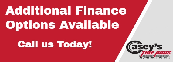 Additional Finance Options Available