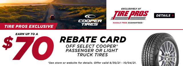Cooper Rebate